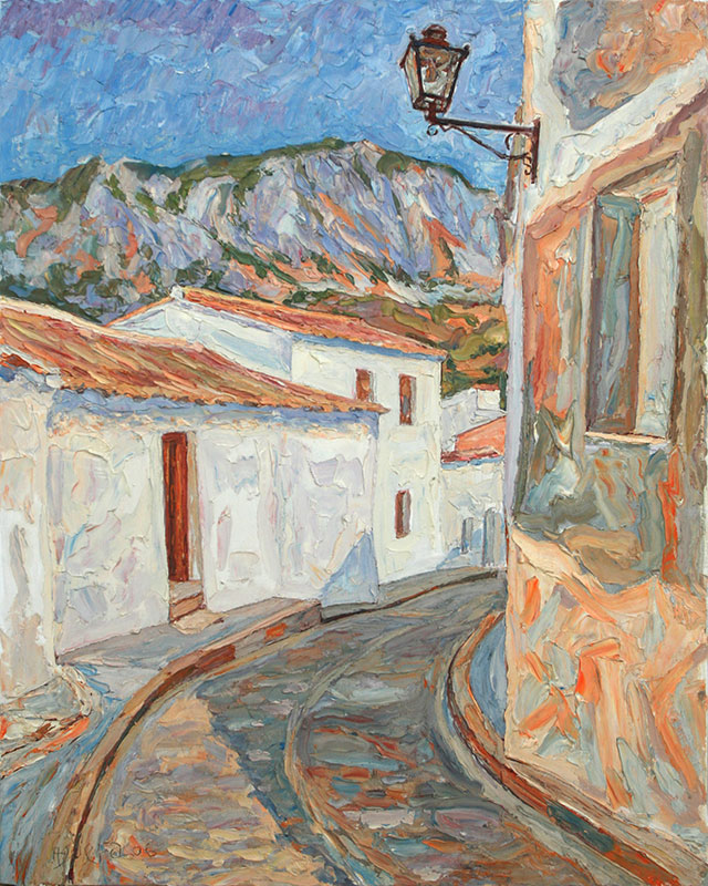 Bajando por Calle Sevilla