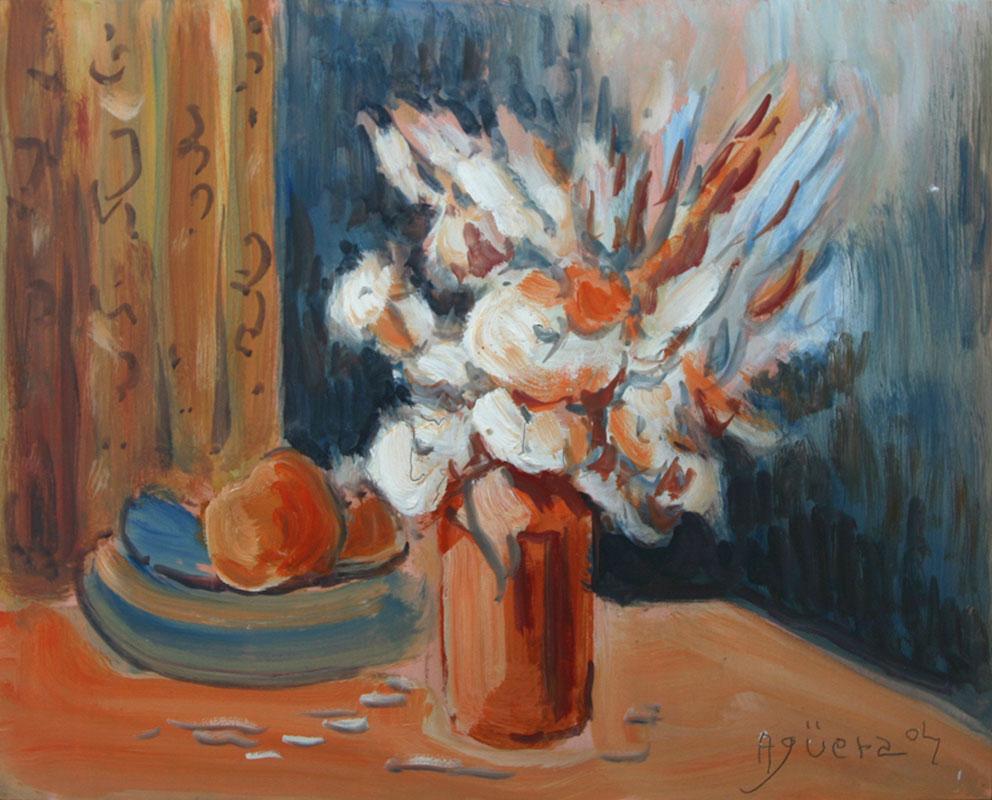 Bodegón con Flores I