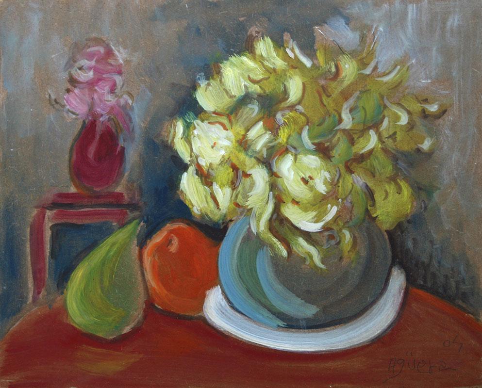 Bodegón con Flores II