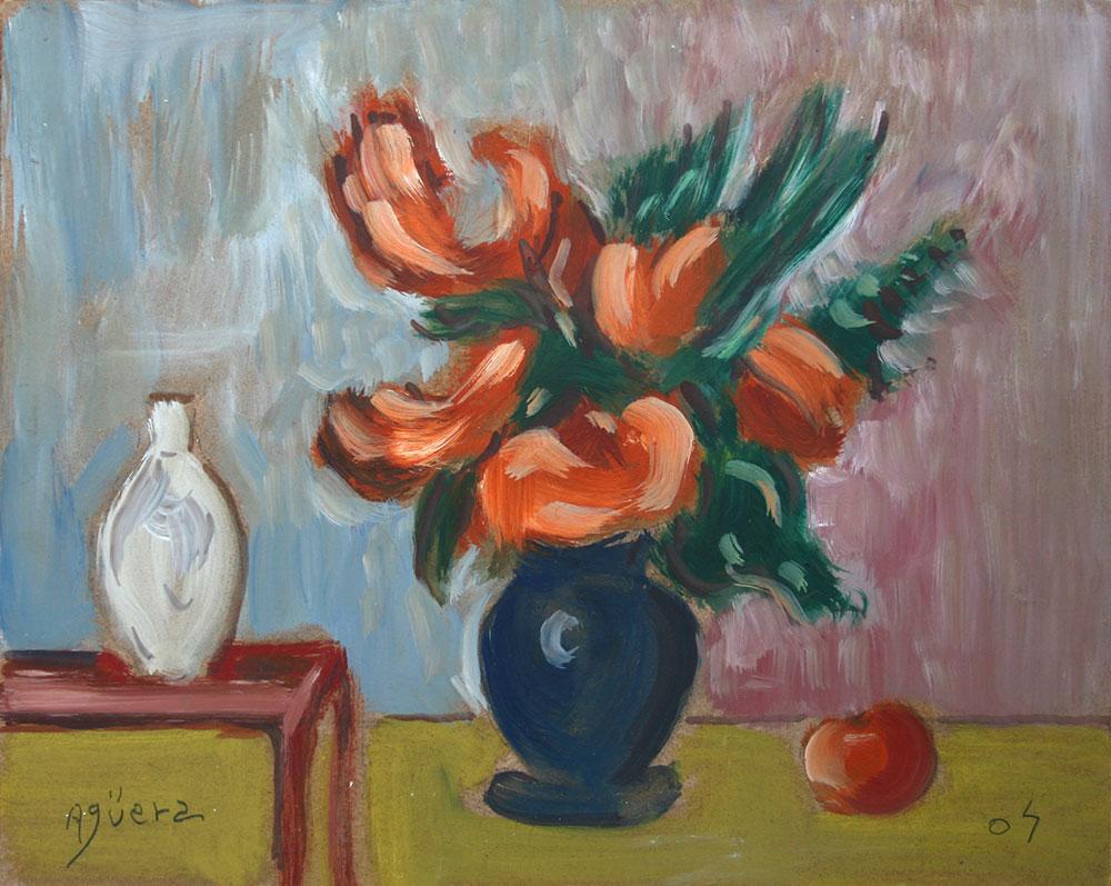 Bodegón con Flores III